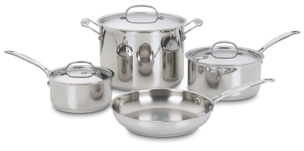 Cuisinart 77-10 Stainless 10-Piece Cookware Set